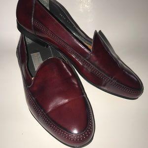 Bruno Magli men's shoes/ loafers size 11-W burgund